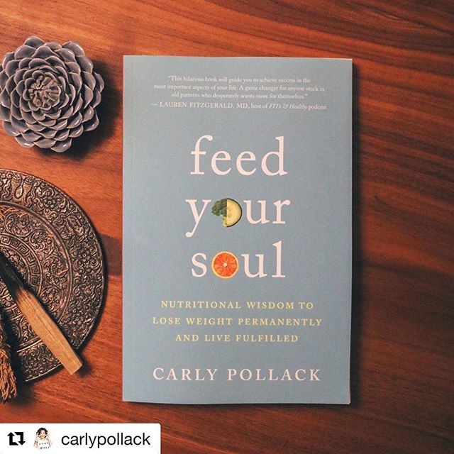 Today feels like a holiday at Nutritional Wisdom - our owner, fearless leader, and favorite guru wrote a book available on Amazon *today* ❤️🙌🏼 Repost @carlypollack ・・・ I'm so grateful for all of your support and kind notes of encouragement. . I hope this book makes you laugh, cry once or twice, and most of all, I hope it helps you understand more deeply where you are on the path to health and how to get to a place of ultimate power over your food choices, your body and the voice in your head. . Haven't got your copy yet? Order it today on Amazon, Indie Bound, Barnes and Noble, or for you local Austinites, @bookpeople! . #carlypollack #feedyoursoulbook