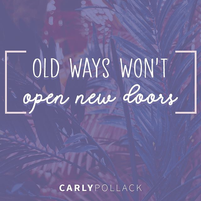 Old ways won't open new doors. Your journey to health is straight ahead, not behind you.